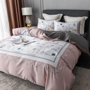Комплект постельного белья Сатин Премиум CPA026