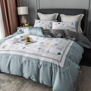 Комплект постельного белья Сатин Премиум CPA038