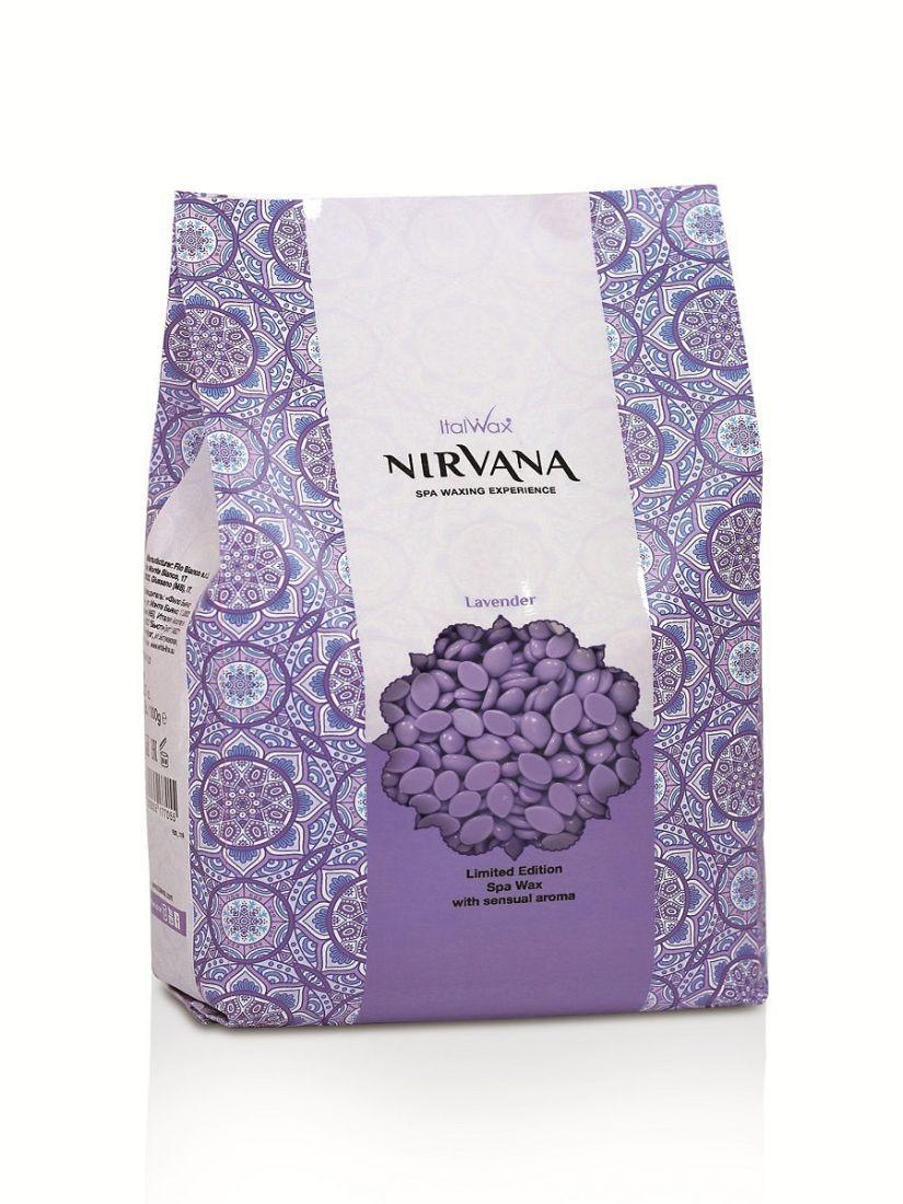 Воск горячий (пленочный) ITALWAX Nirvana (сандал) гранулы 1кг