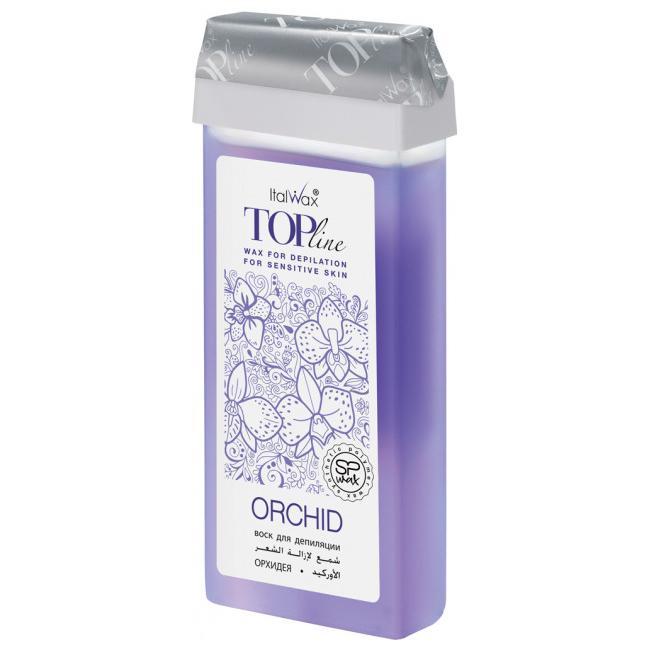 Воск ITALWAX Top Line в картридже 100мл Орхидея