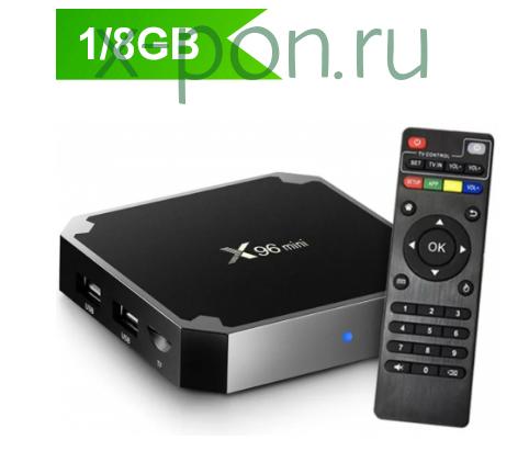 ТВ-приставка X96 mini 1/8Gb черный