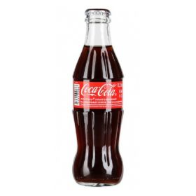 Coca-Cola 250 мл в стеклянной бутылке (настоящий напиток)