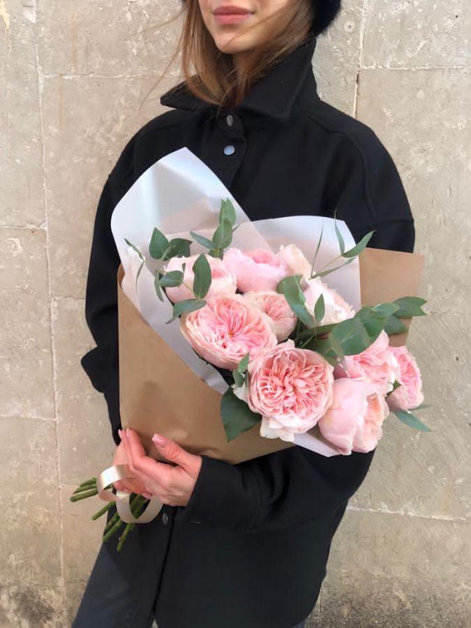 Пионовидные розы  Sabrina от 7 штук