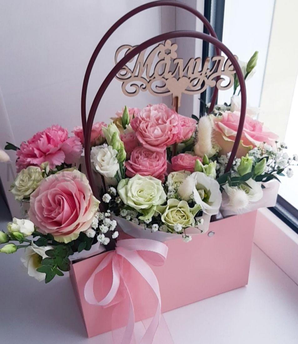"""Сумочка с цветами """"Для мамы"""""""