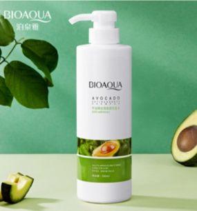 Шампунь с экстрактом авокадо и маслом семян макадамии «BIOAQUA» .(47231)