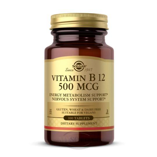 Витамин B12 (Цианокобаламин) 500 мкг
