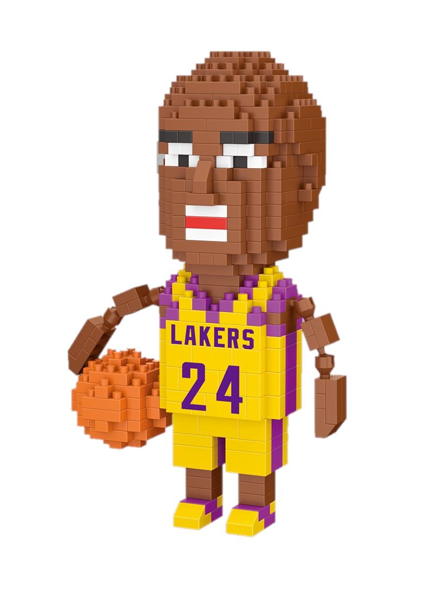 Конструктор Wisehawk & LNO Лейкерс Коби Брайант 401 деталь NO. 2577 Lakers Kobe Bryant