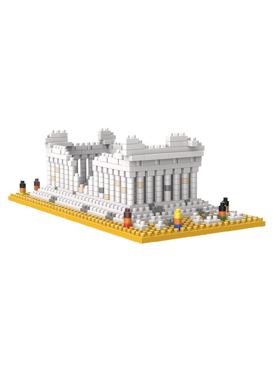 Конструктор Wisehawk & LNO Парфенон Афины 567 деталей NO. 3284 Parthenon temple Gift Series
