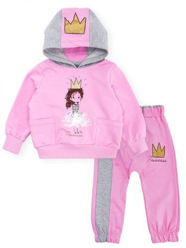Костюм для девочек 1-4 года Bonito розовый