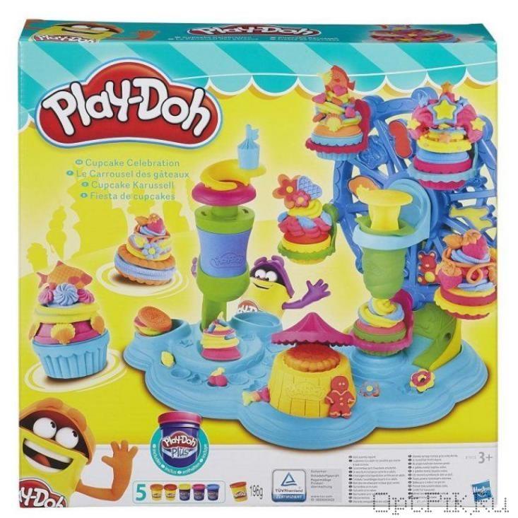 Игровой набор пластилина Play-Doh  Карусель Сладостей