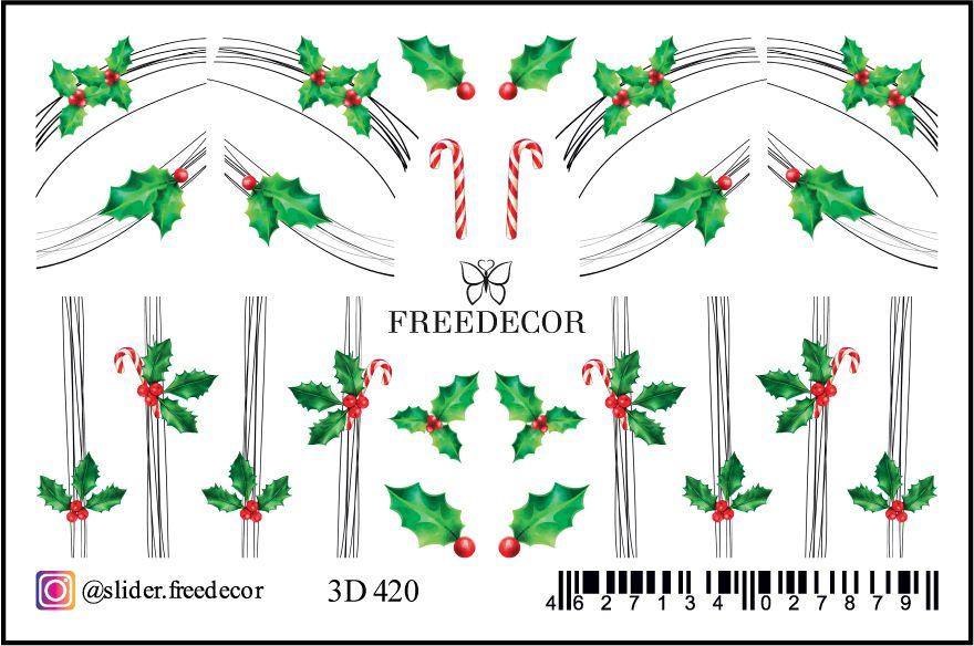 FREEDECOR 3D слайдер дизайн Арт. 3D-420