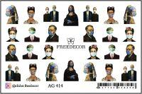 FREEDECOR Аэрография Слайдер дизайн Арт.AG-414