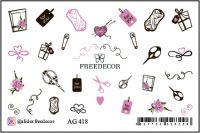 FREEDECOR Аэрография Слайдер дизайн Арт.AG-418