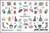 FREEDECOR 3D слайдер дизайн Арт. 3D-425 Новый год