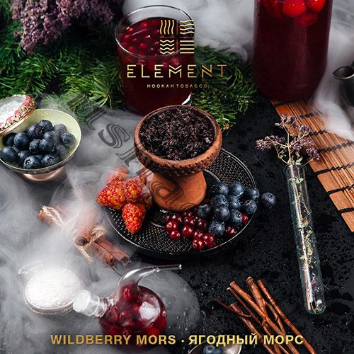Element (40gr) (ВОДА) - Wildberry Mors (Ягодный морс)
