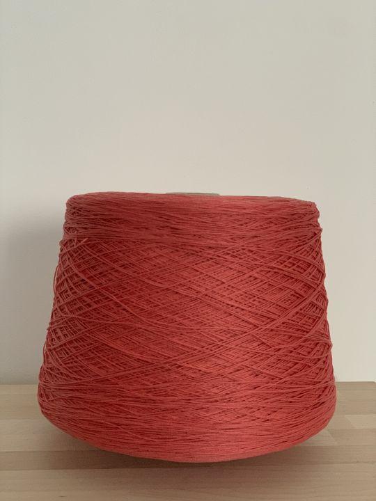 Хлопок шелковистый Manifattura Sessia Cable цвет коралл