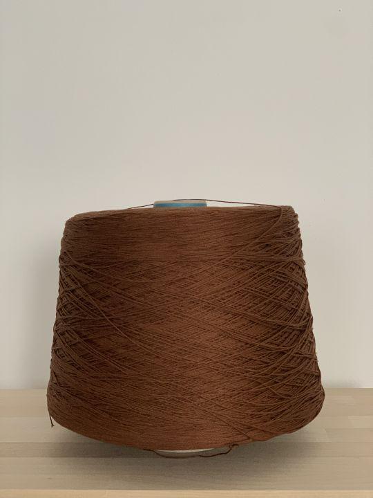 Хлопок шелковистый Manifattura Sessia Cable цвет светло-коричневый