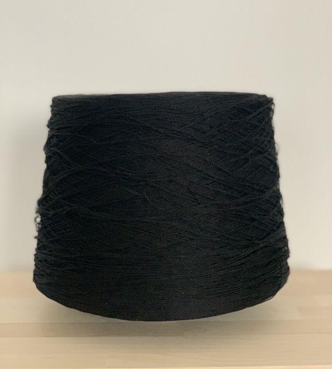 Хлопок шелковистый Manifattura Sessia Cable цвет черный