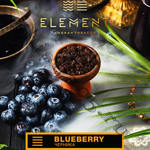 Element (40gr) (ЗЕМЛЯ) - Blueberry (Черника)