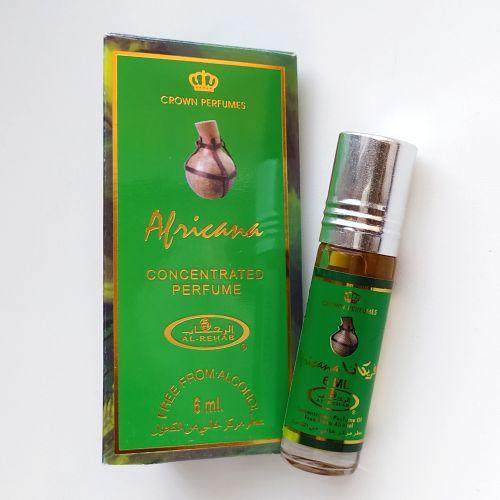 Арабские масляные духи Africana | Африкана | 6 мл | Al-Rehab | Унисекс