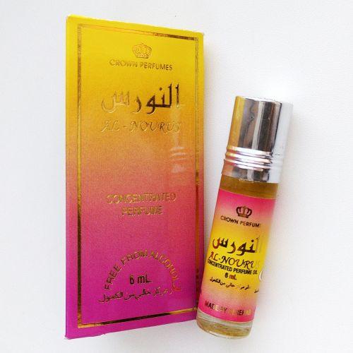 Арабские масляные духи Al Nourus | Аль Ноурус | 6 мл | Al-Rehab | Женский