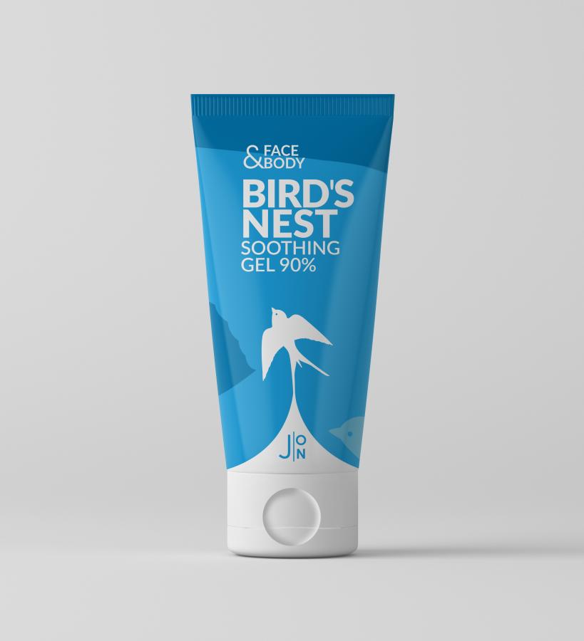 Гель универсальный ЛАСТОЧКА Face & Body Bird's Nest Soothing Gel 90%, 200 мл