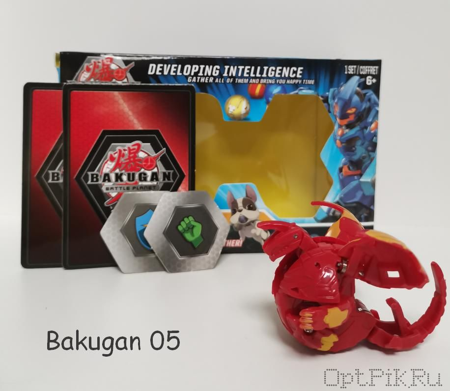 Бакуган Bakugan 05