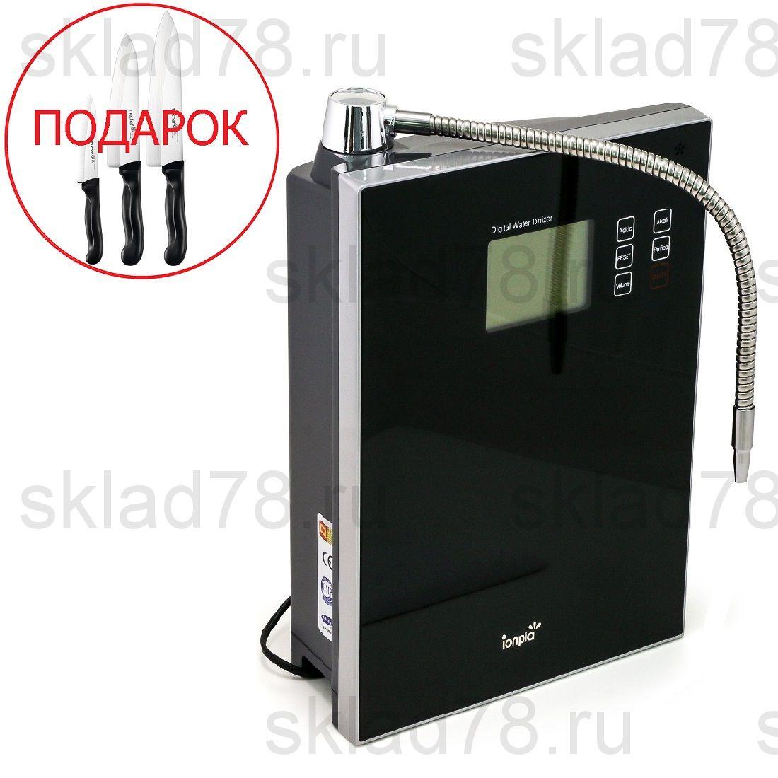 Ионизатор воды ION-7400 Black (9 пластин)