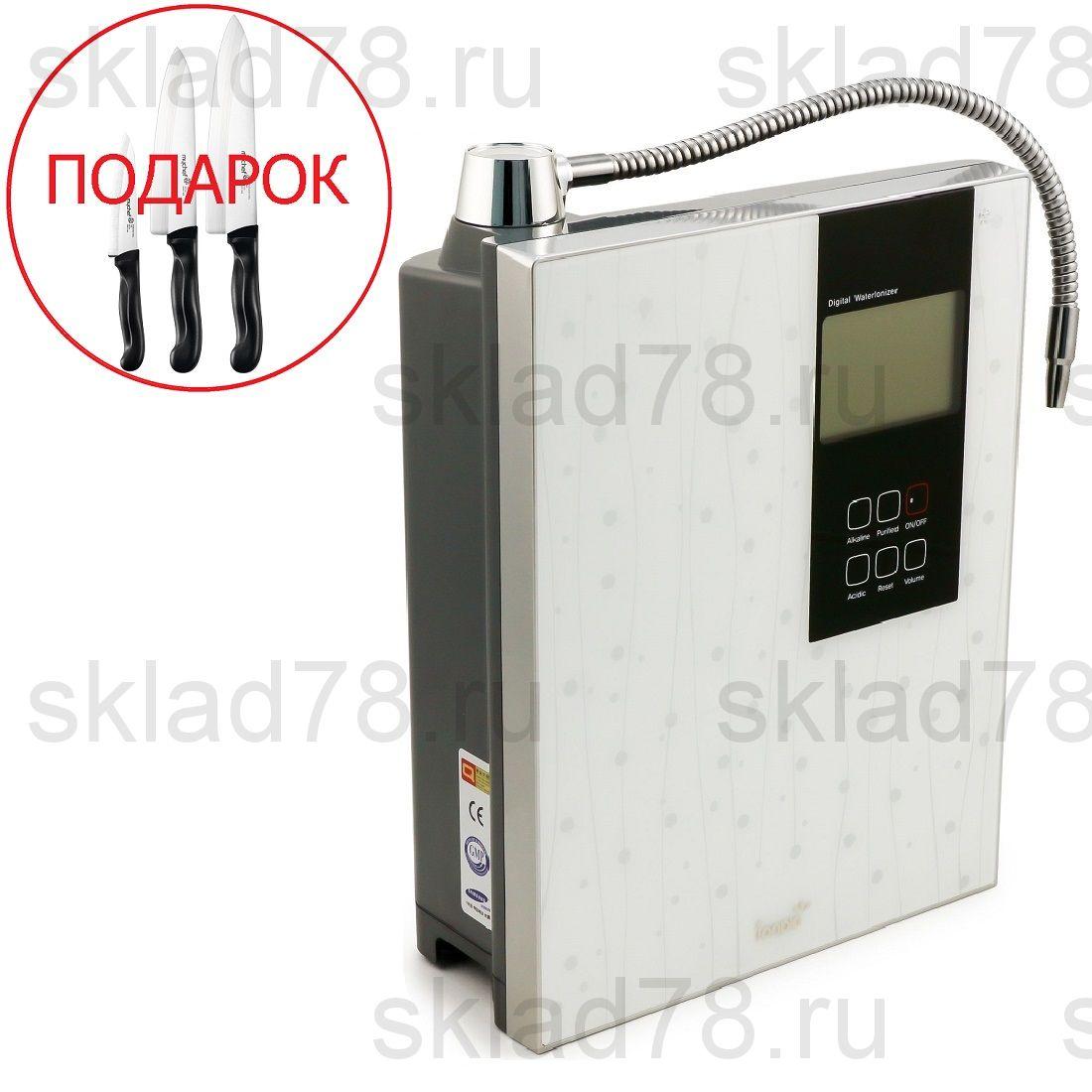Ионизатор воды ION-7600 White (9 титано-платиновых пластин)