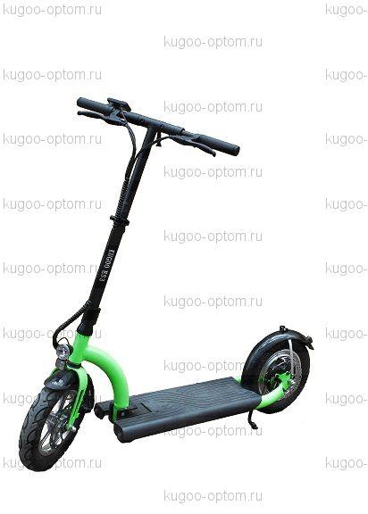 Электросамокат Kugoo ES3 Зеленый Jilong 11AH