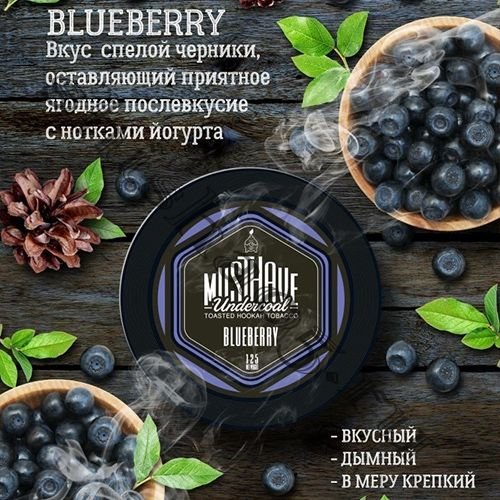 Must Have (125gr) - Blueberry