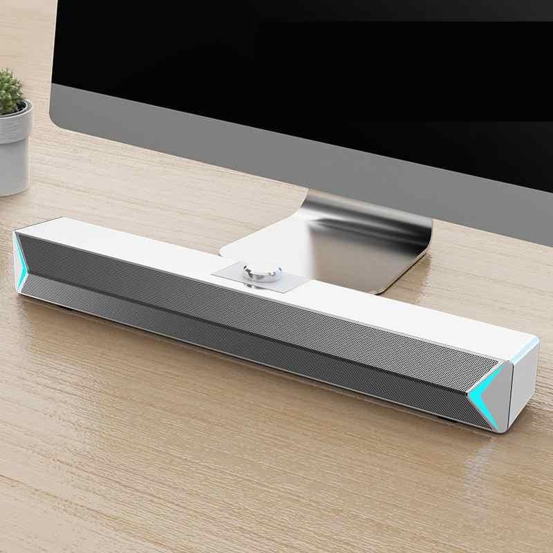 SADA D6 Белая активная колонка (пит.USB, 2.0)