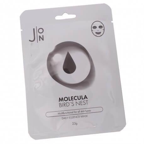 Тканевая маска для лица ЛАСТОЧКИНО ГНЕЗДО Molecula Bird's Nest Daily Essence Mask,  23 мл