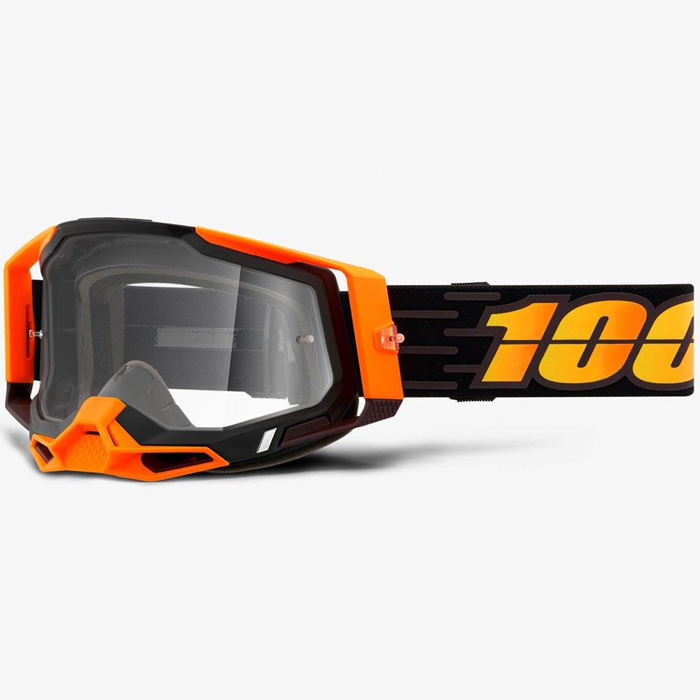 100% Racecraft 2 Costume 2 Clear Lens, очки