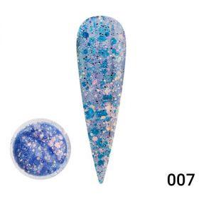 Diamond Painting Gel глиттер гель Global Fashion 5 гр 07