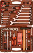 "OMT93S (OMT93S18) Набор инструмента универсальный 1/4"", 1/2""DR, 93 предмета"
