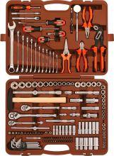 """OMT150S (OMT150S18) Набор инструмента универсальный 1/4"""", 3/8"""" и 1/2""""DR,150 предметов"""