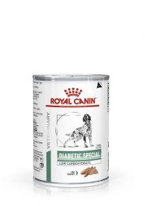 Консервы ROYAL CANIN DIABETIC SPECIAL LOW CARBOHYDRATE диета для собак при сахарном диабете 410гр