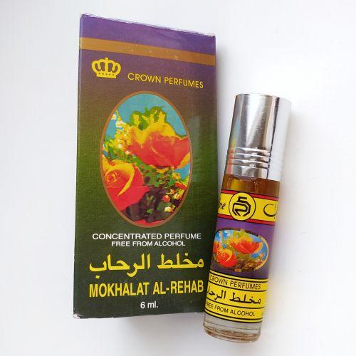 Арабские масляные духи Mokhalat | Мукхаллат | 6 мл | Al-Rehab | Женский