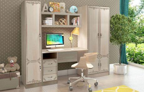 Детская мебель серии Классика-комплект 6 для учебы