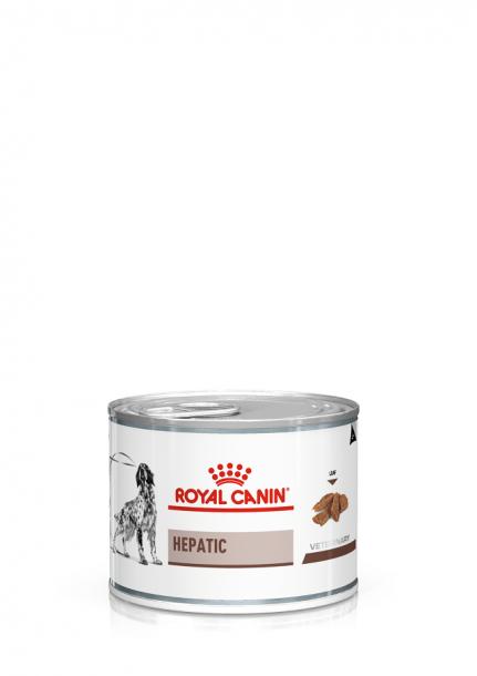 Консервы ROYAL CANIN HEPATIC диета для собак при при заболеваниях печени 200гр