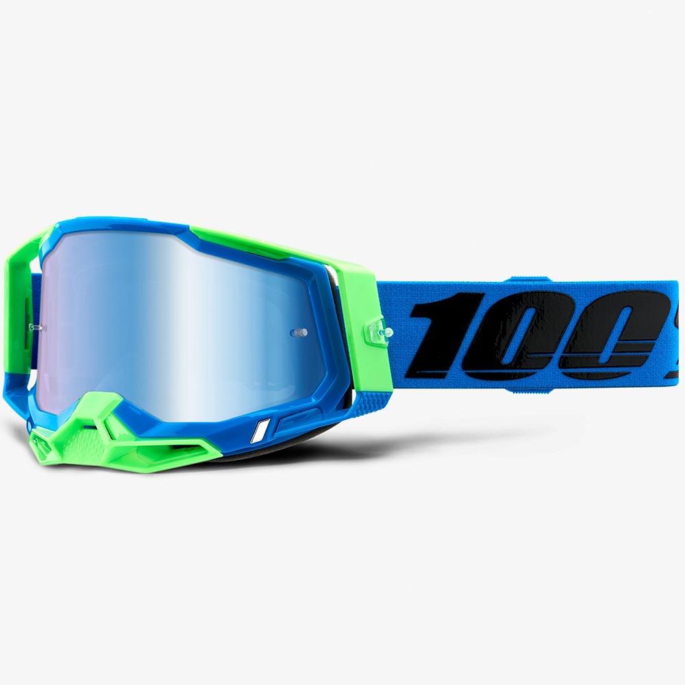 100% Racecraft 2 Fremont Mirror Blue Lens, очки
