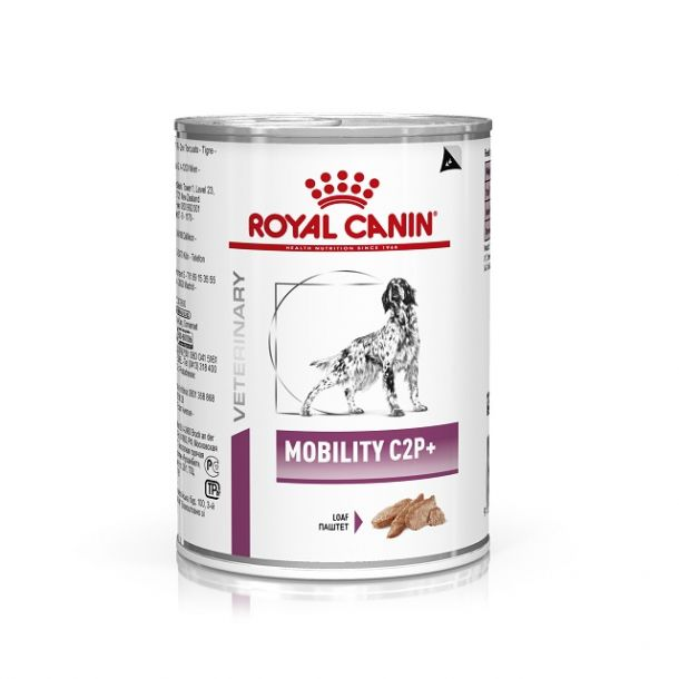 Консервы ROYAL CANIN MOBILITY диета для собак при заболеваниях опорно-двигательного аппарата 400гр