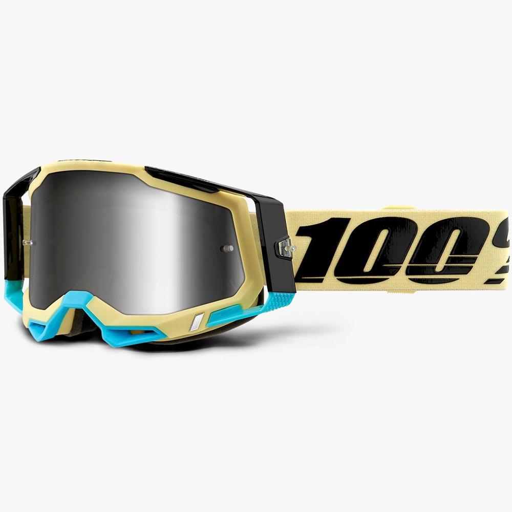 100% Racecraft 2 Airblast Mirror Silver Lens, очки