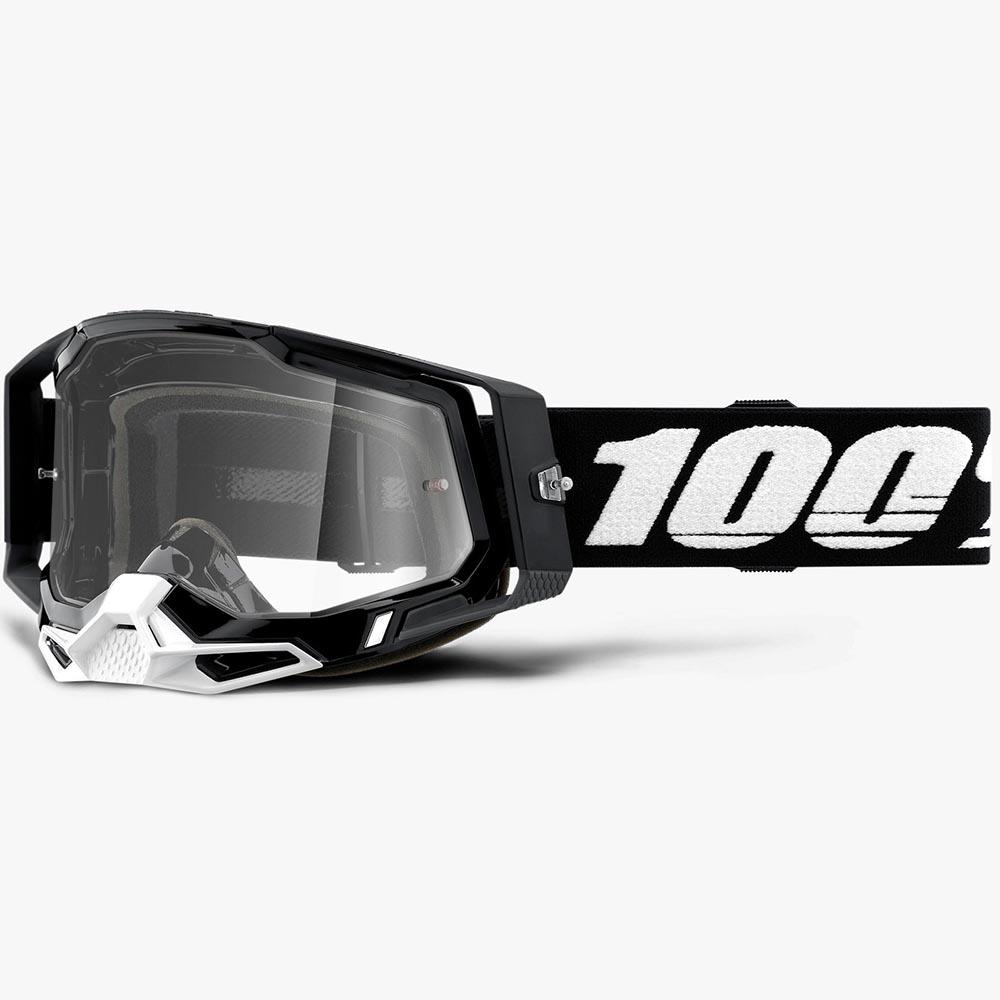 100% Racecraft 2 Black Clear Lens, очки