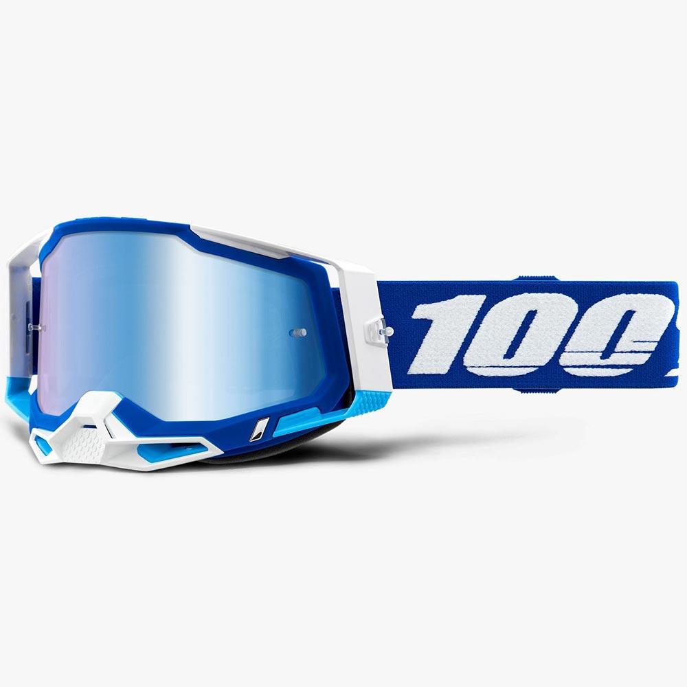 100% Racecraft 2 Blue Mirror Blue Lens, очки