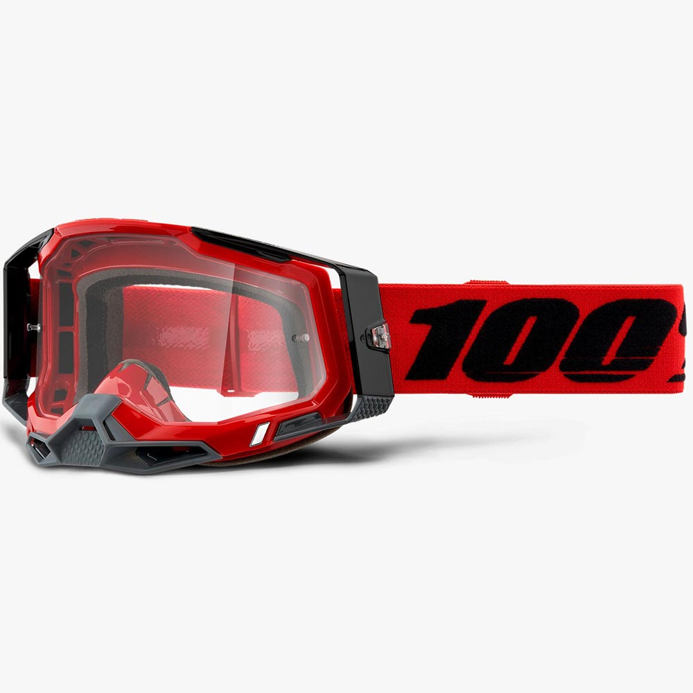 100% Racecraft 2 Red Clear Lens, очки