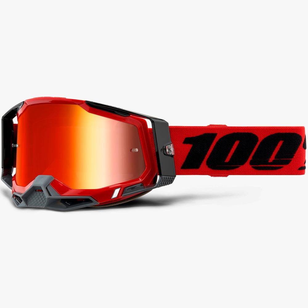 100% Racecraft 2 Red Mirror Red Lens, очки