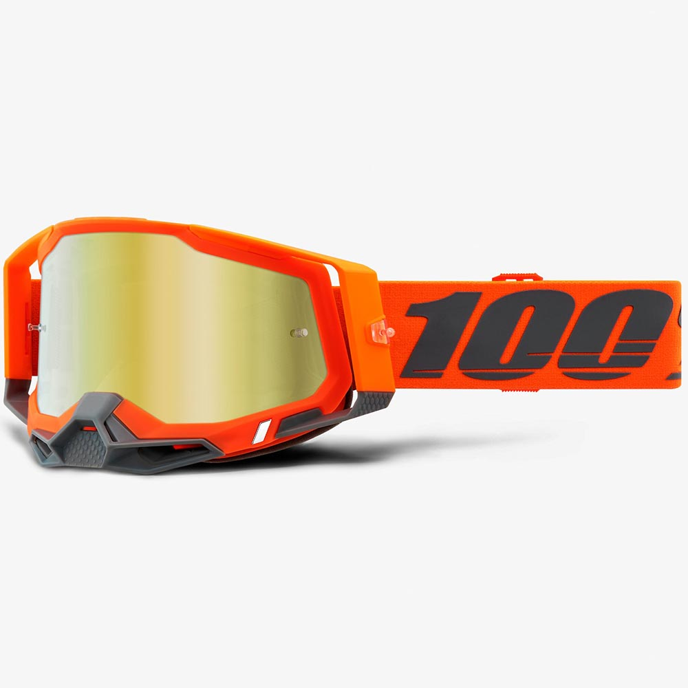 100% Racecraft 2 Kerv Mirror Gold Lens, очки
