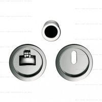 Colombo OPEN ID211 LK WK комплект для раздвижных дверей с замком под ключ. хром полированный